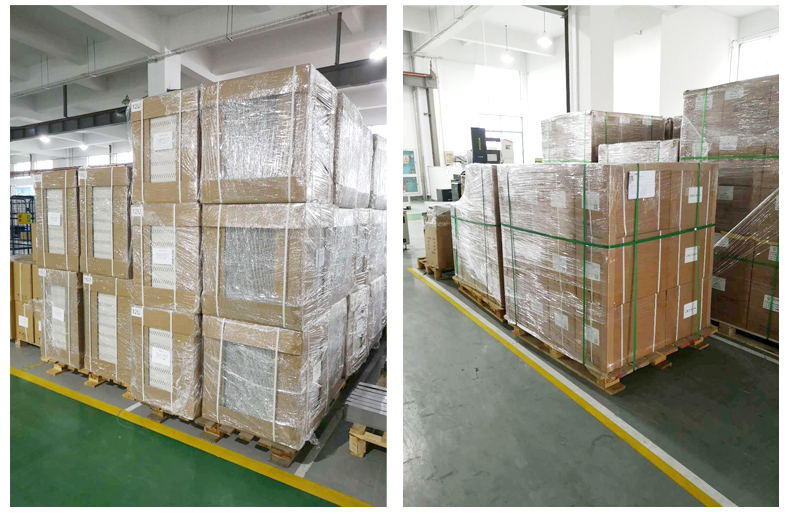 288fibers Rack Mount Optical Distribution Fiber(ODF) Panel Box packing and shipping