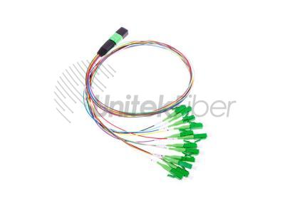 Factory Price MPO to12 LC-APC 0.9mm Pigtails Fiber Optic Patchcord