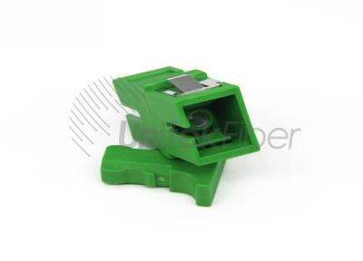 SC/APC to SC/APC Female Optic Fiber Adapter Green Color with Short ear