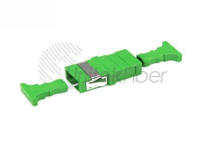 SC-APC-to-SC-APC-Female-Optic-Fiber-Adapter-Green-Color-with-Short-ear