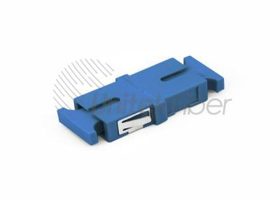 Single Mode Blue Simplex no Flange SC - SC Fiber cable Adapter